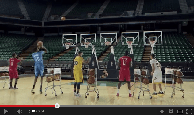 NBA Celebrates the Holiday Season with Jingle Hoops Video