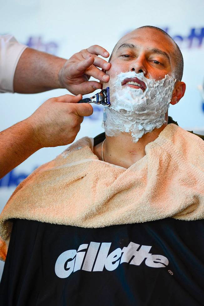 shane victorino shave