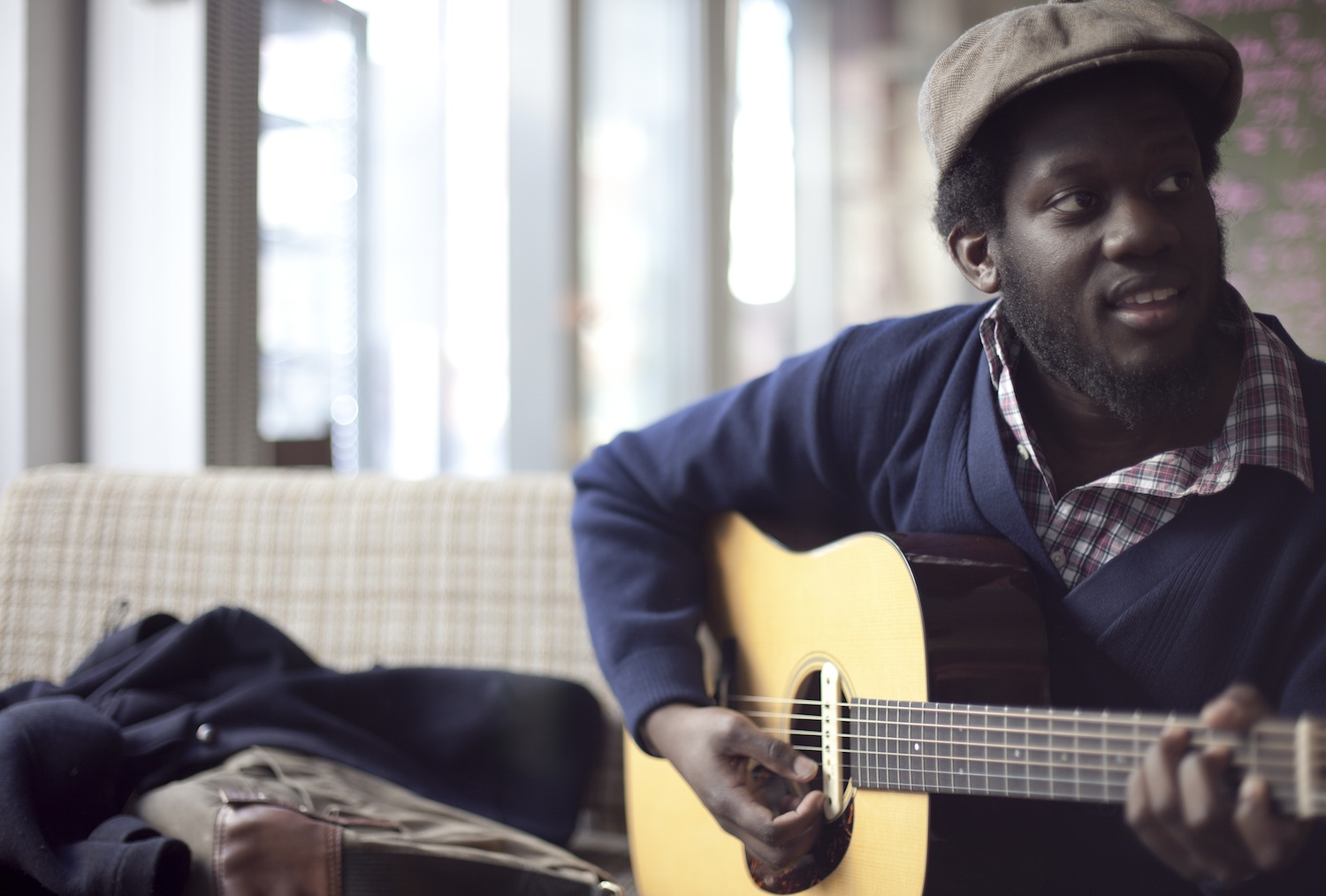 "Michael Kiwanuka's ""Home Again"" Delivers Hope and Healing"