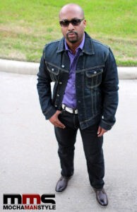 mochamanstyle denim jacket