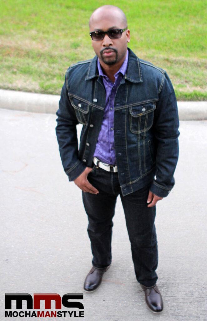 mochamanstyle denim jacket