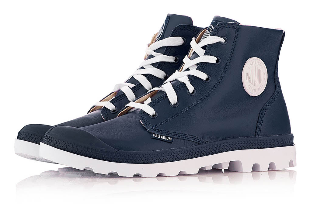 palladium Blanc Hi Leather