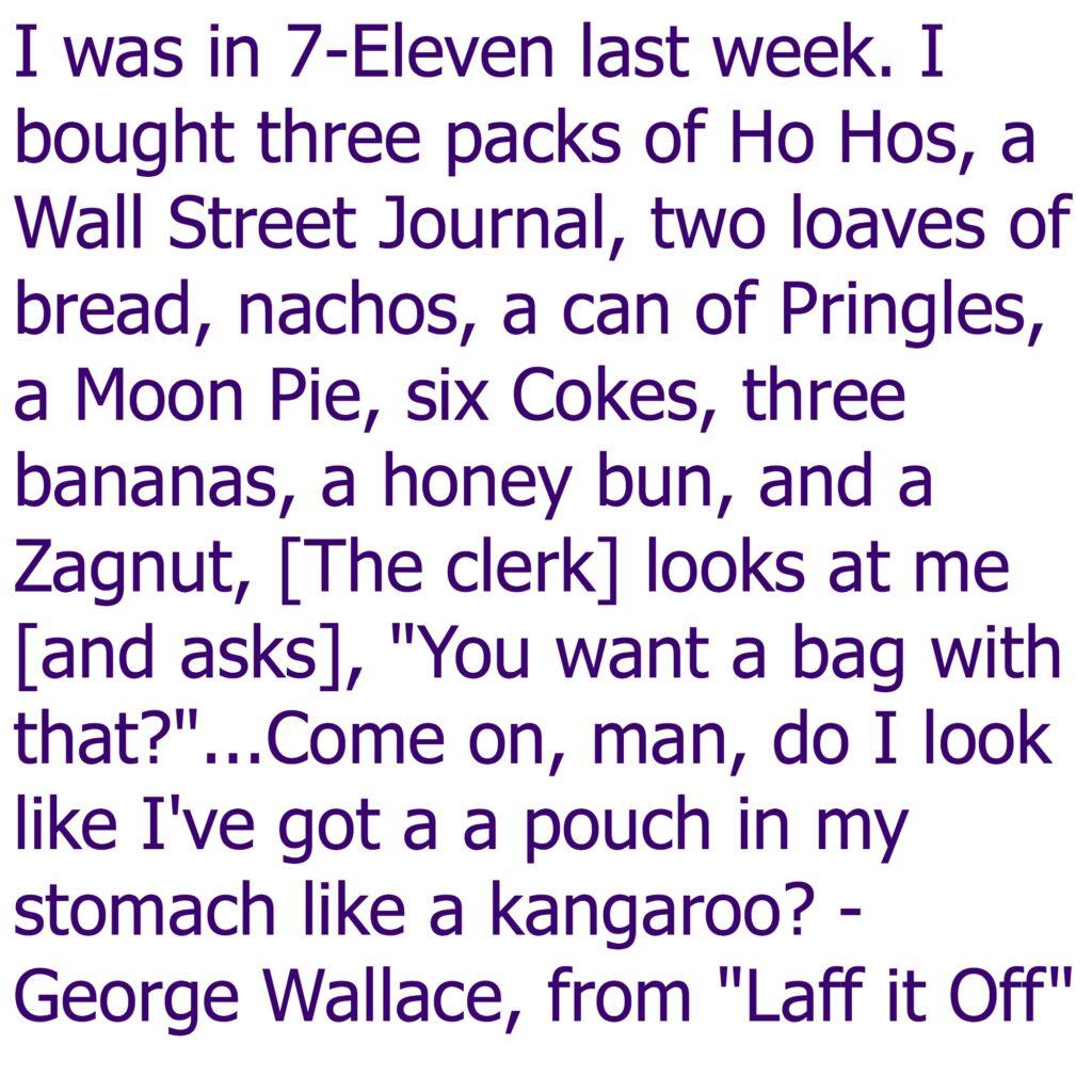 George Wallace Laff it Off