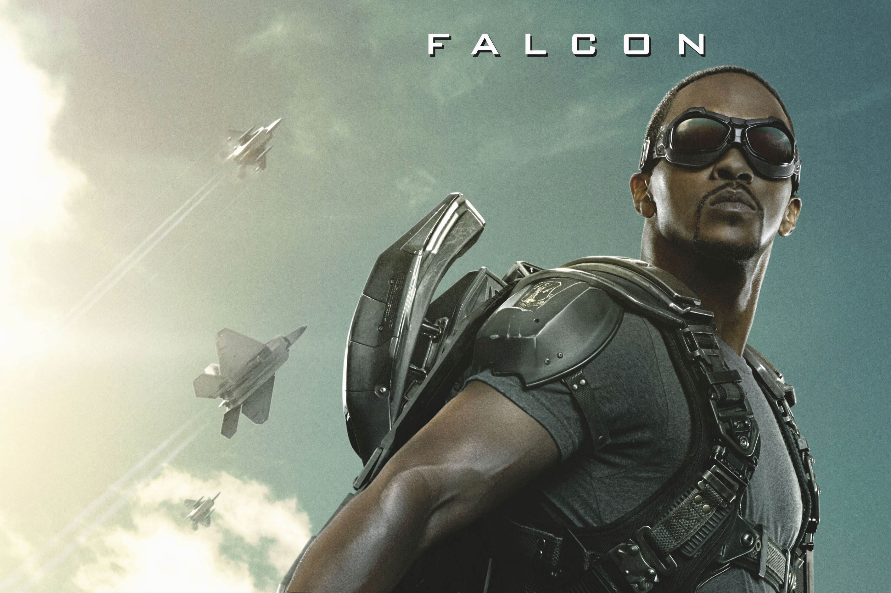 Falcon Soars in Marvel's Captain America: The Winter Soldier