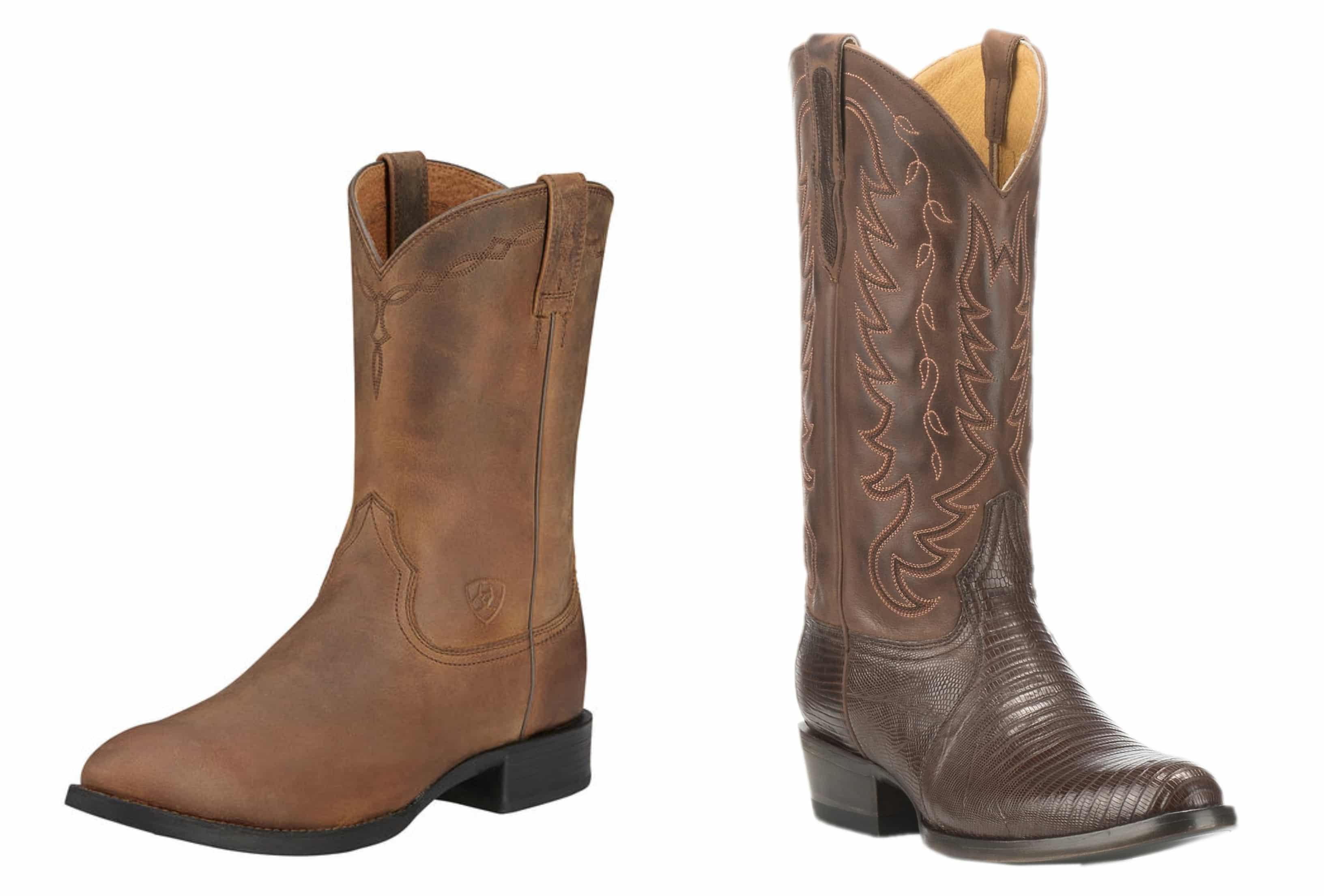 roper cowboy boots traditional cowboy boots