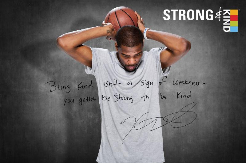 Kevin Durant Shows the Strength in Kindness