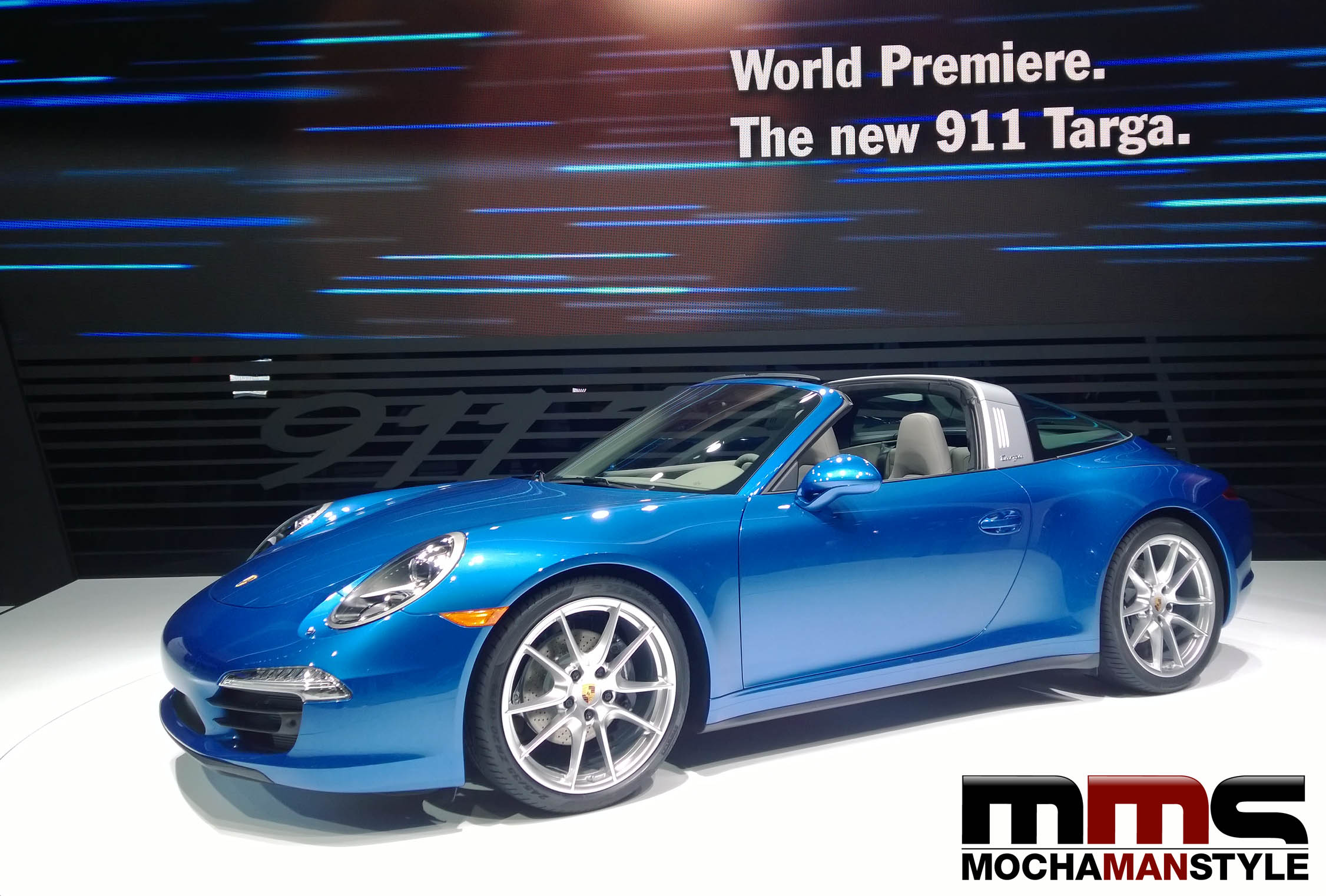 TOP CARS FROM THE NORTH AMERICAN INTERNATIONAL AUTO SHOW (NAIAS) IN DETROIT – PORSCHE