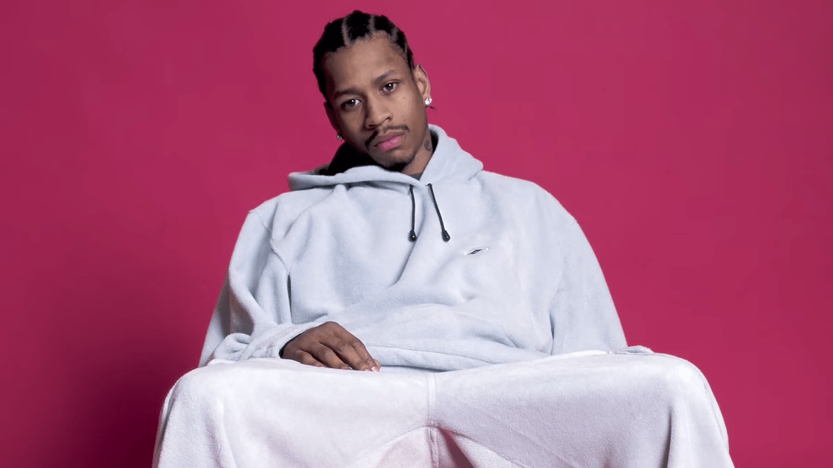 The Trials and Tribulations  of NBA All-Star Allen Iverson Captured on Film