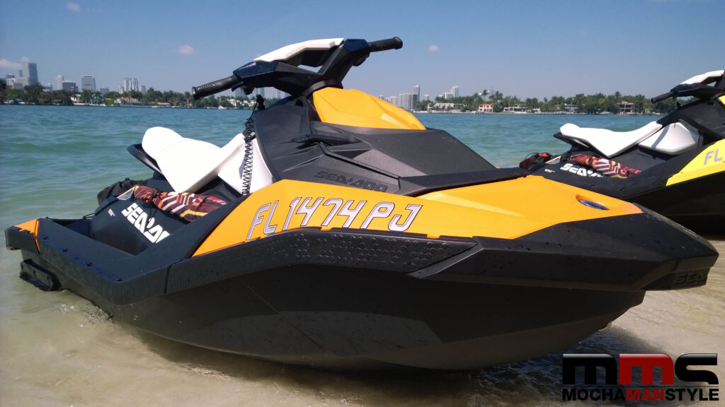 Testing The Waters With The Sea Doo Spark Mocha Man Style