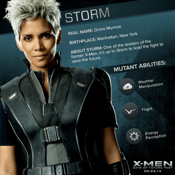 X-Men Days of Future Past: Storm