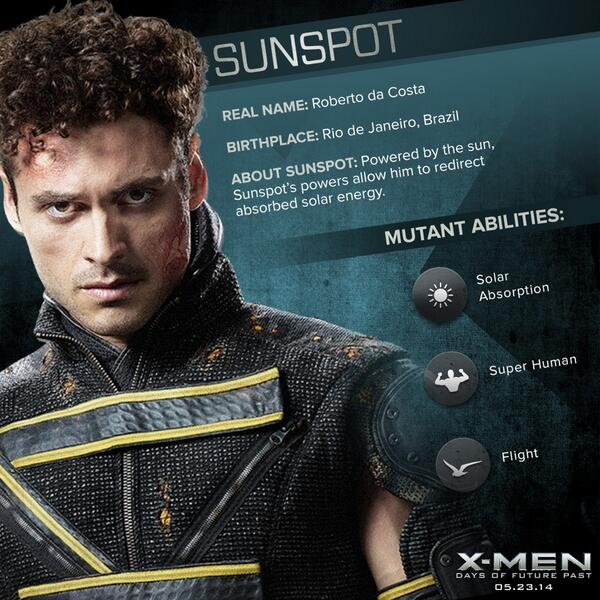 X Men Sunspot X-Men: Days of Future ...