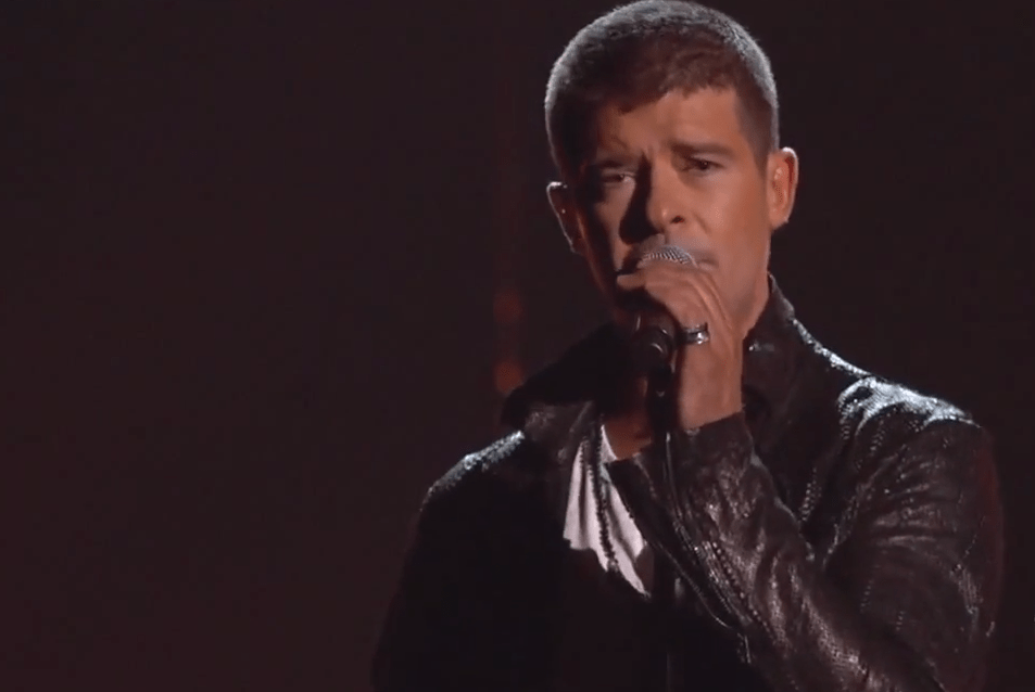 "Robin Thicke Performs ""Get Her Back"" at the Billboard Music Awards [Revised]"