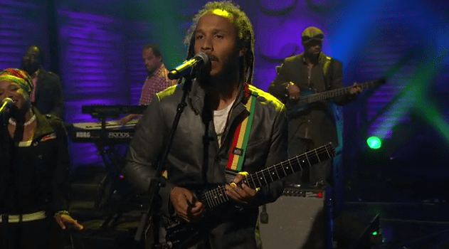 "Ziggy Marley Performs ""I Don't Wanna Live On Mars"""
