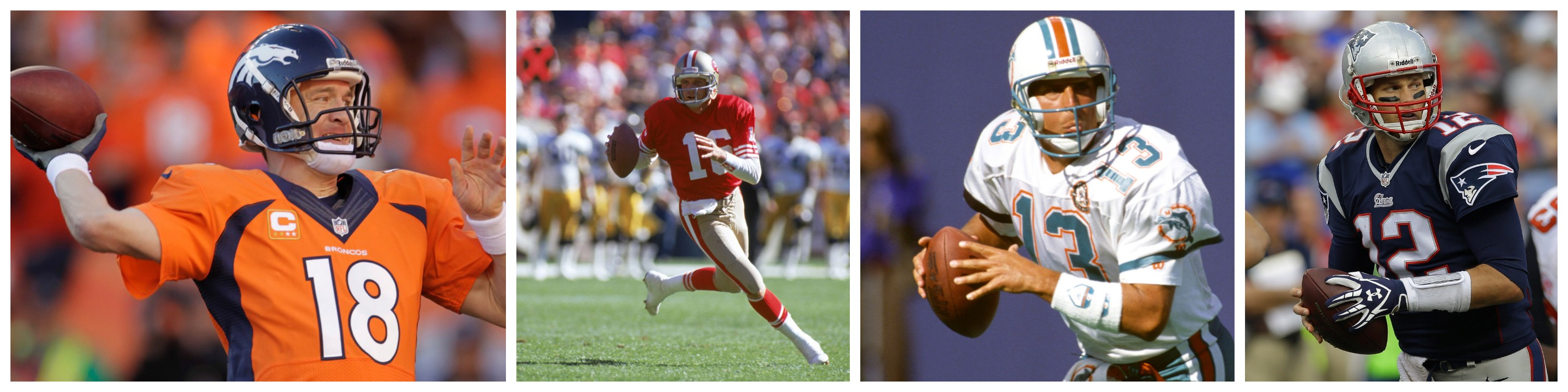 The Mt. Rushmore of NFL QBs: The 4 Best Quarterbacks of All-Time