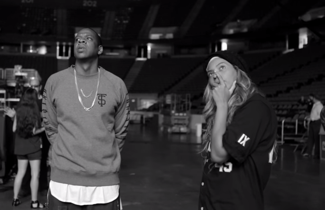 Jay-Z and Beyonce Release On The Run Tour Rehearsal Video