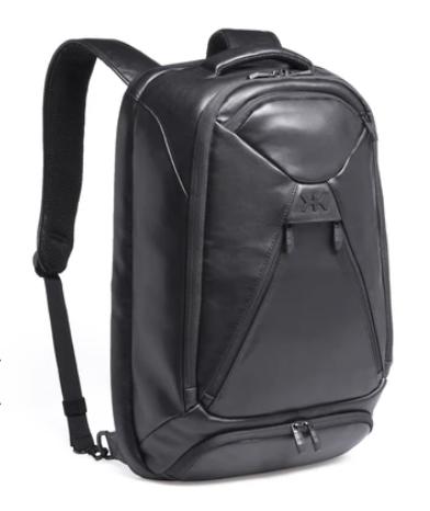 knack leather backpack