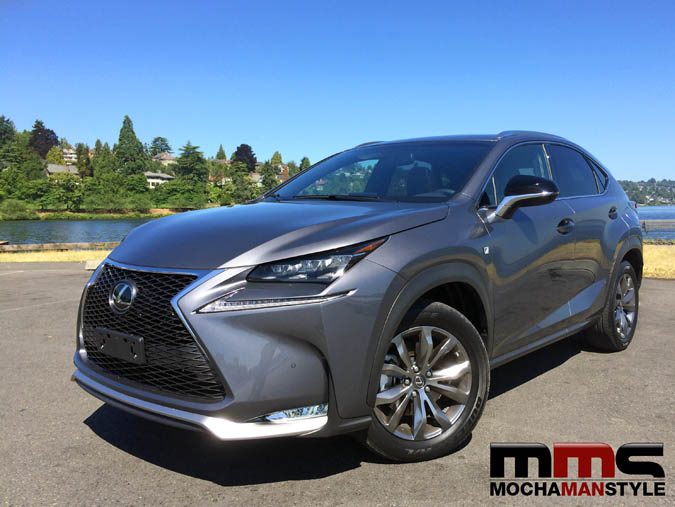 cruising seattle in the 2015 lexus nx f sport mocha man style. Black Bedroom Furniture Sets. Home Design Ideas