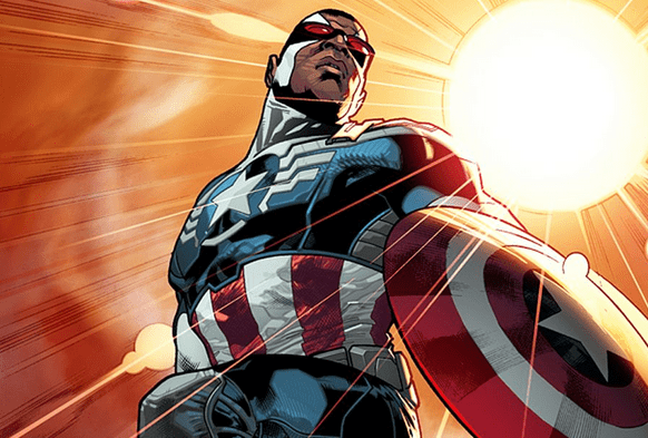 Sam Wilson is Captain America in the New Marvel Universe