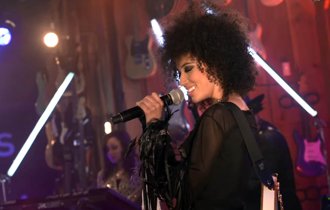 """Andy Allo Brings the Funk in This Performance of """"People Pleaser"""""""