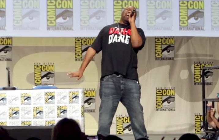 "Biz Markie Performs ""Just a Friend"" with ""The Book of Life Cast"" at ComicCon 2014"