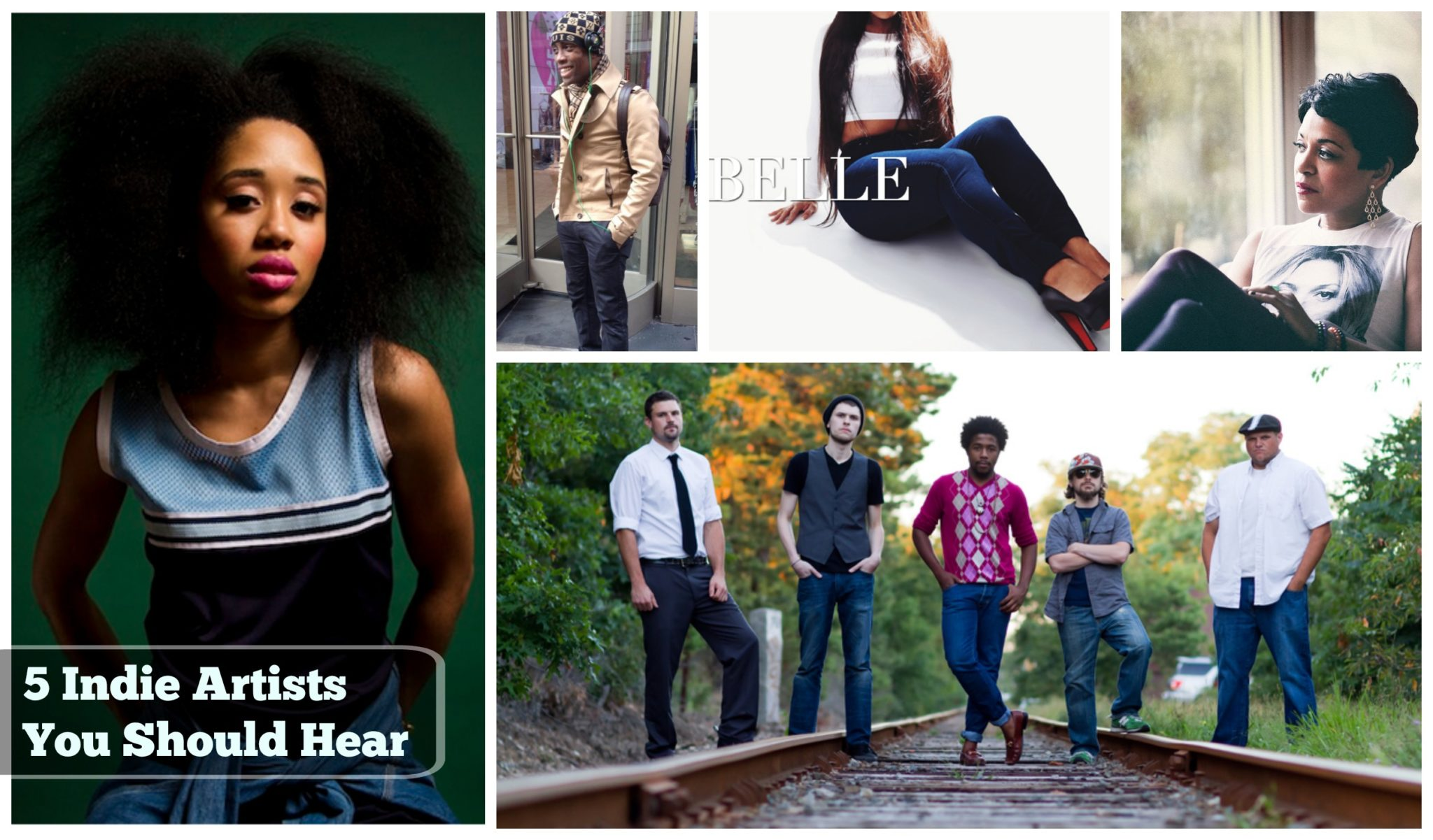 5 Indie Artists You Should Hear – August 2014