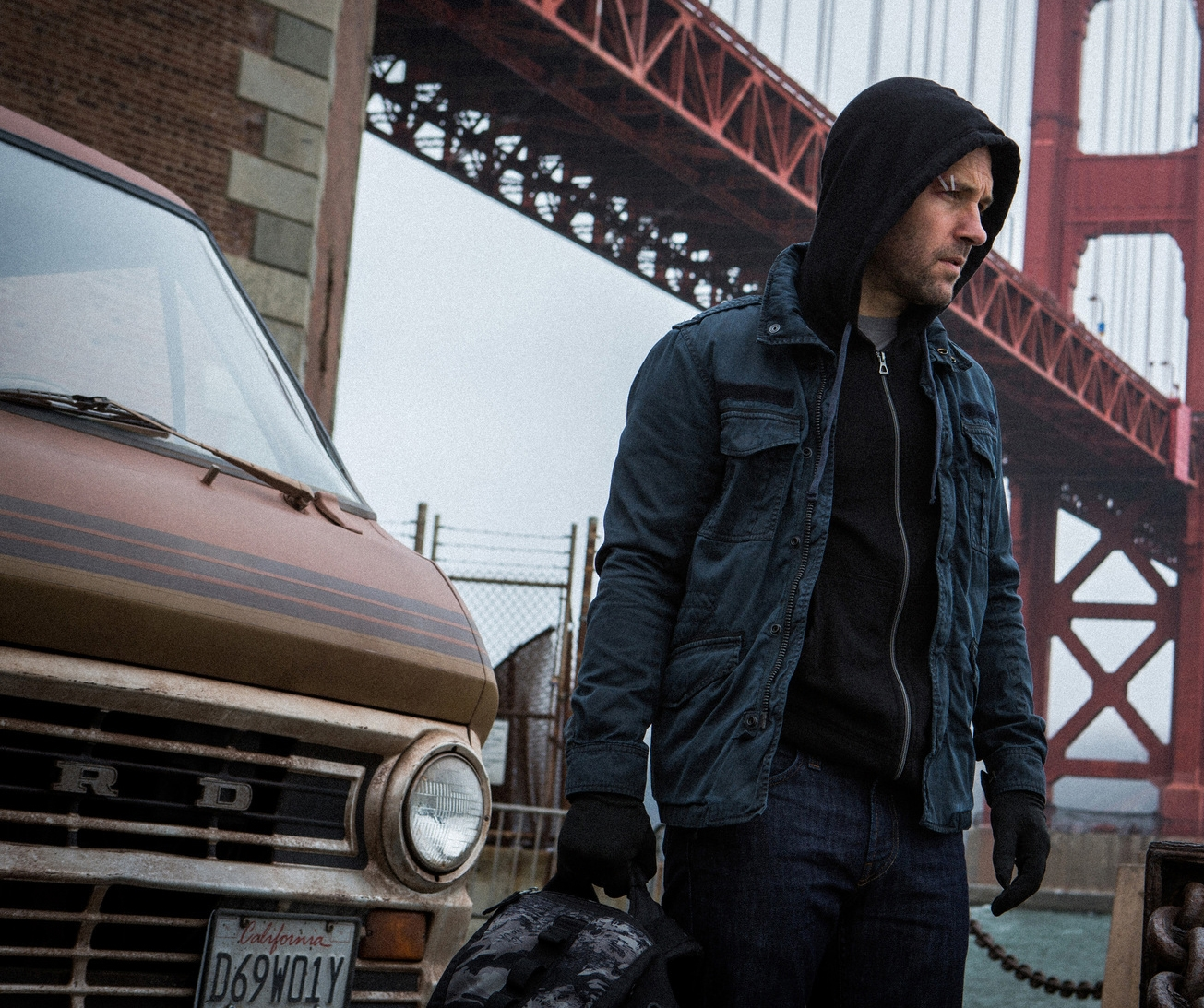 First Look at Paul Rudd in Marvel's Ant-Man