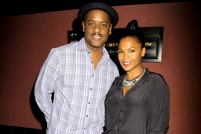 Blair Underwood and Nia Long