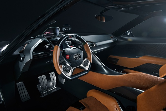 Toyota Ft-1 Interior