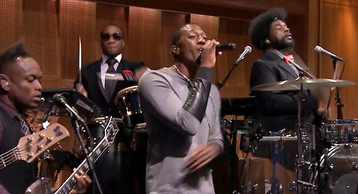 """Lecrae Performs His Hit Song """"Nuthin'"""" on The Tonight Show"""