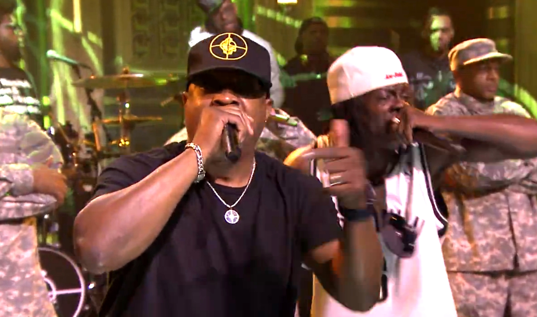"Public Enemy Performs ""Public Enemy No. 1"""