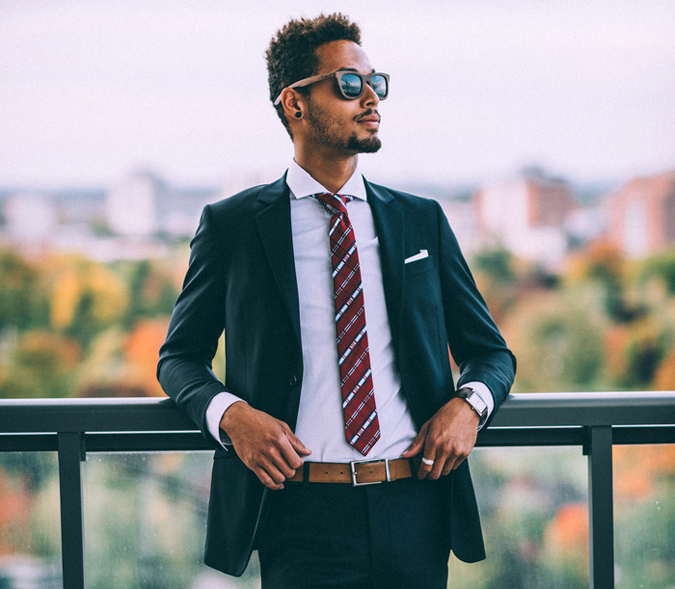 The Madison Suit by Gentlemen of York is Designed to Save Lives