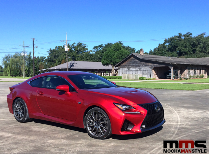 2015 Lexus RC F is Built for Performance on the Road and Track