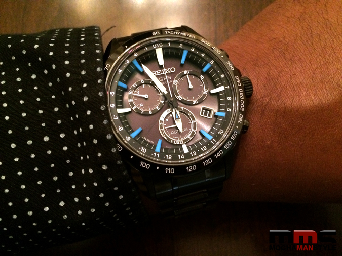Seiko Astron GPS Solar Watch is a Classic Timepiece with Cutting Edge Technology