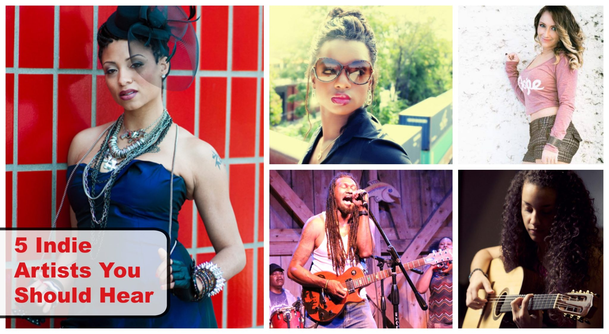 5 Indie Artists You Should Hear – November 2014