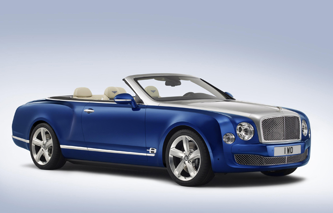 The Bentley Grand Convertible is the Ultimate Expression of British Luxury