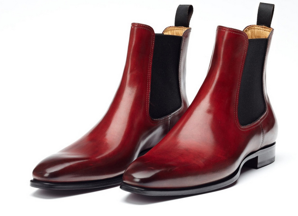paul evans chelsea boot