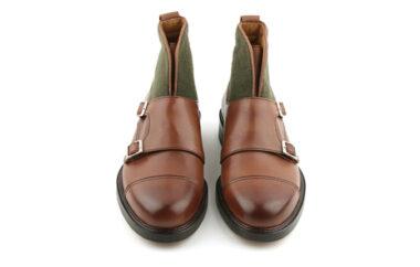 purplow monsk strap boots