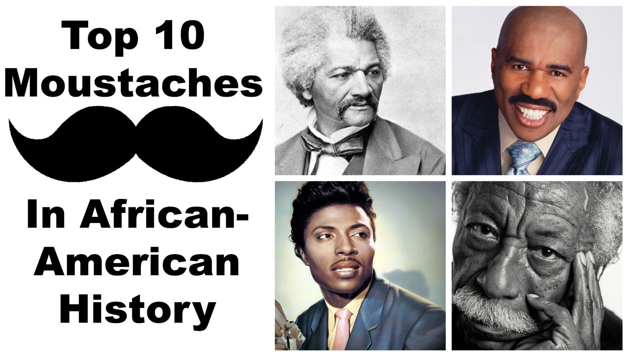 top ten moustaches in african american history