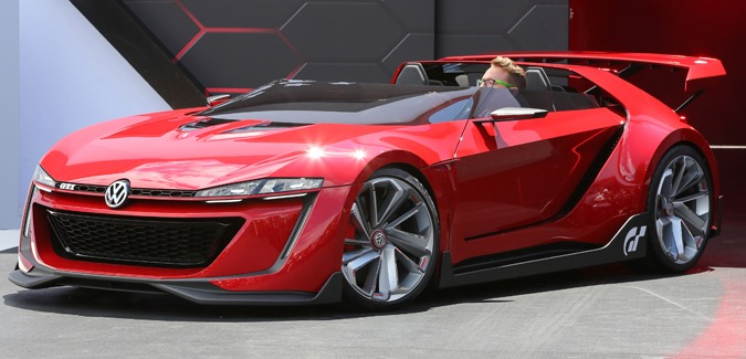 Volkswagen GTI Roadster Concept Car Unveiled at L.A. Auto Show