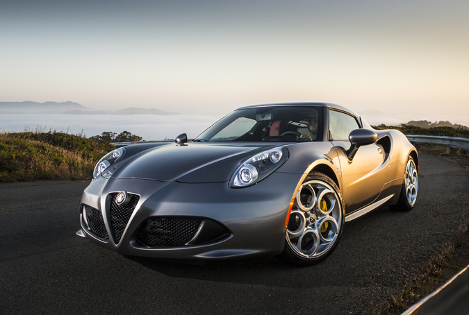 The 2015 Alfa Romeo 4C Marks the Brand's Return to North America