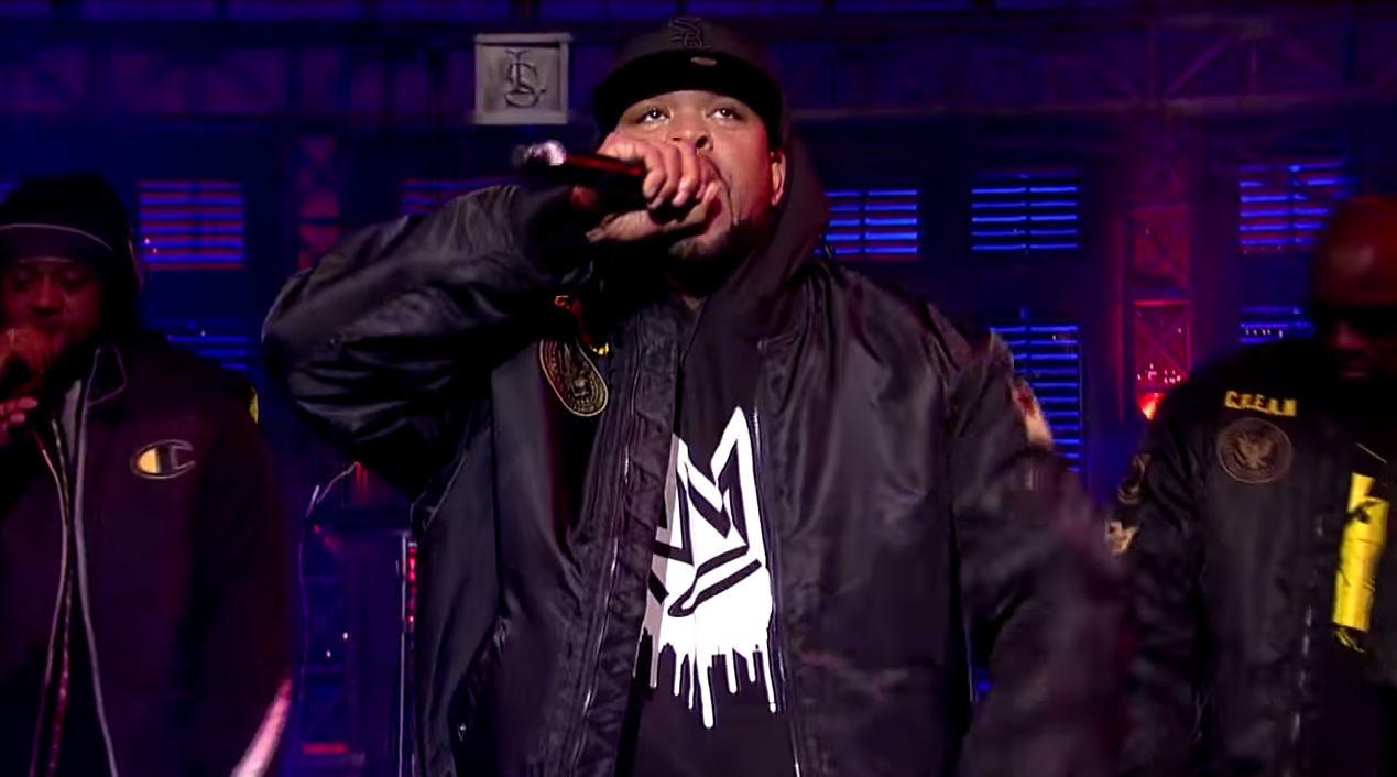 "Wu-Tang Clan Performs ""Ruckus in B Minor"""