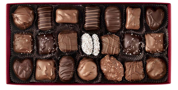 hickory farms signature chocolate collection