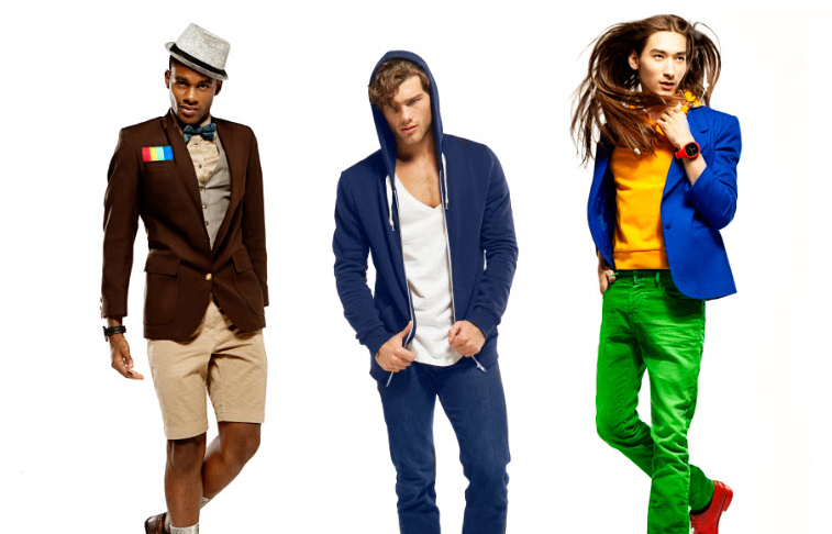 What If Men Dressed Like Popular Social Networks