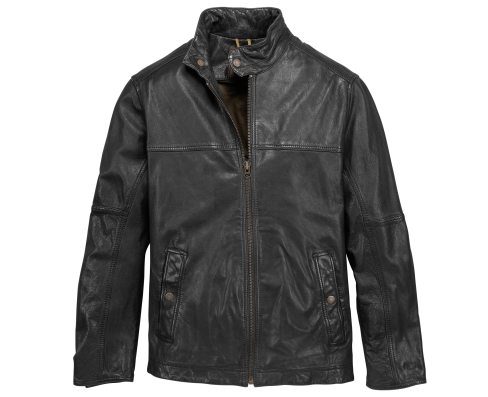 timberland leather bomber jacket