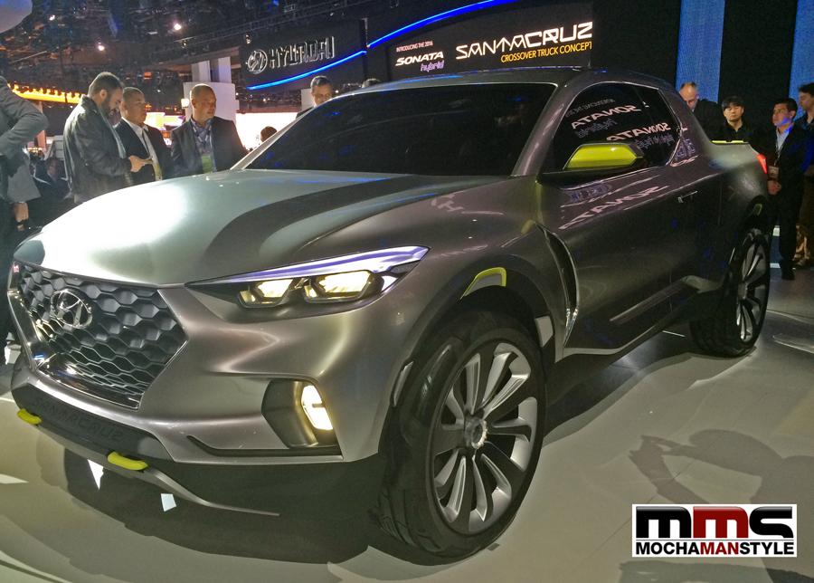 Hyundai Santa Cruz Crossover Truck NAIAS