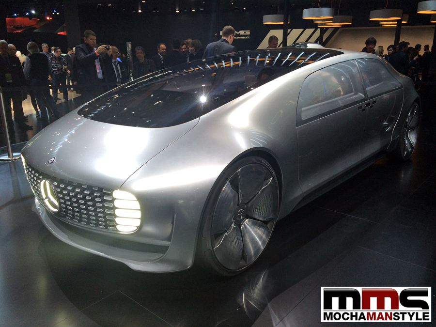 Mercedes-Benz F 015 Luxury in Motion NAIAS