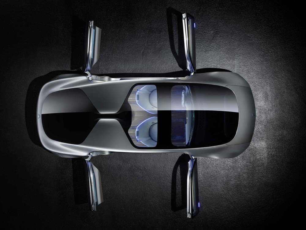 mercedes-benz F 015 Luxury In Motion doors