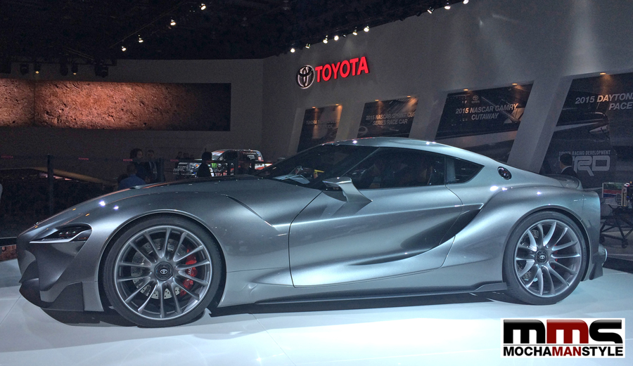 toyota ft-1 NAIAS