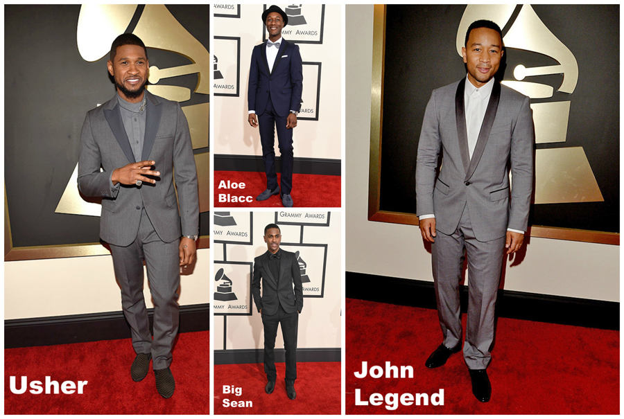 7 Men's Fashion Looks at the 2015 Grammy Awards