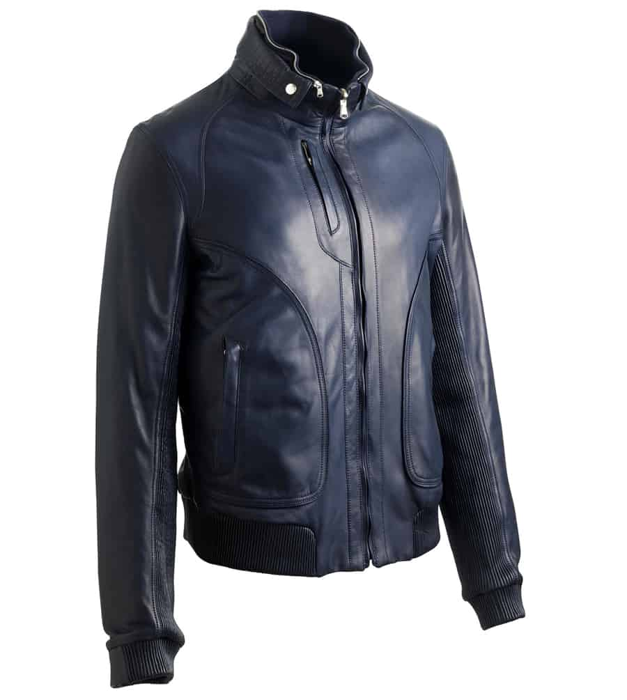 bentley leather jacket